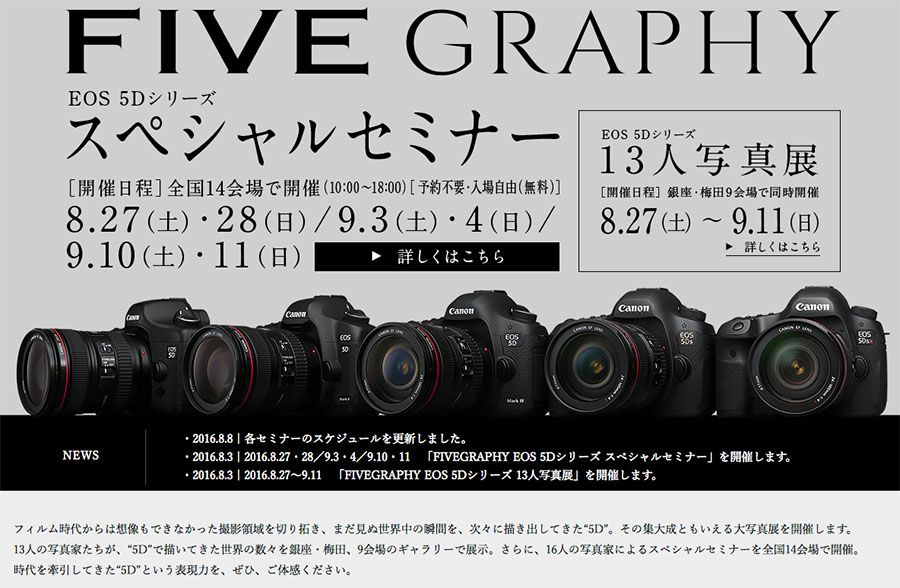 Five Graphy Canon EOS 5D Mark IV