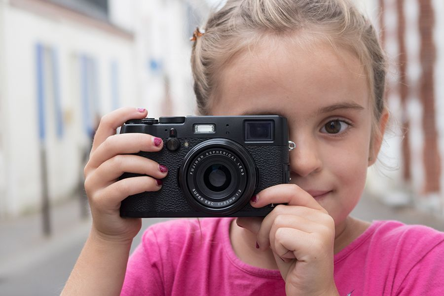 photo enfant Fujifilm X100T