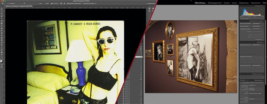 Photoshop et Lightroom les deux graals du photographe / retoucheur