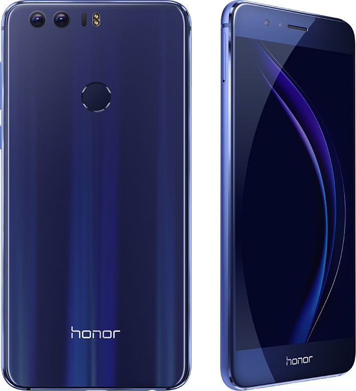 Honor 8 en version bleue