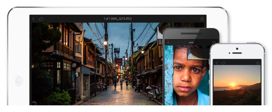 Adobe Lightroom Mobile 2.5 pour iOS