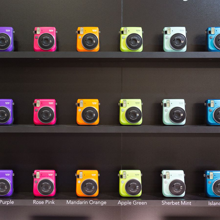 Fujifilm stand photokina 2016 les couleurs Instax