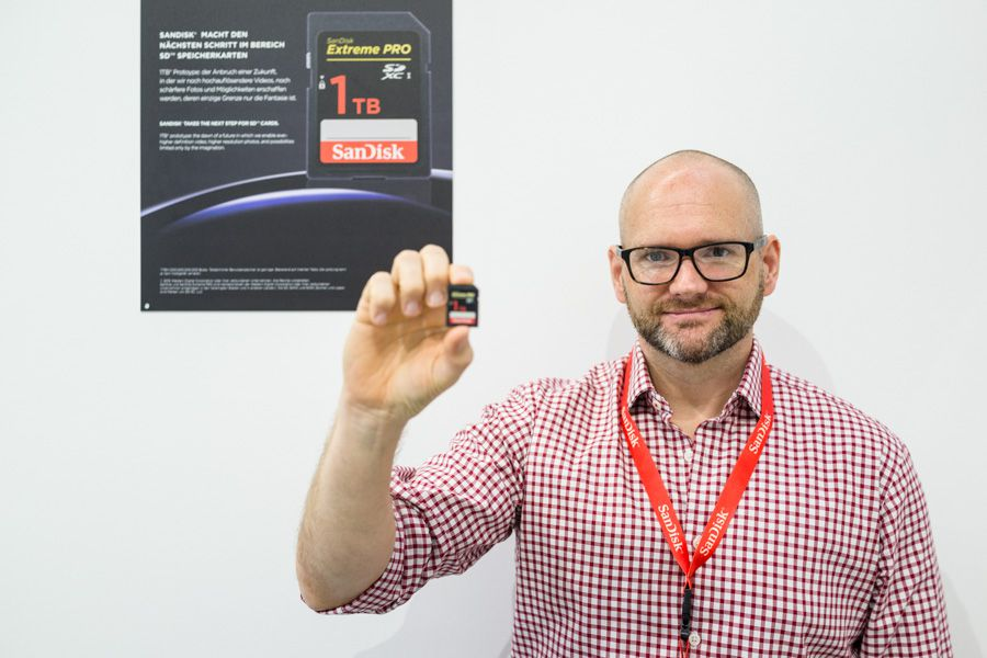 Gerry Edwards, Directeur Marketing SanDisk