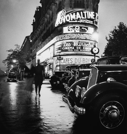 Paris la Nuit - Robert Schall