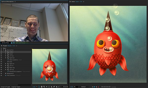 Adobe Character Animator pour After Effect CC