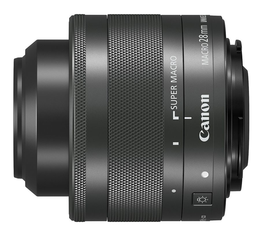 Canon EF-M 28 mm f/3,5 Macro IS STM : 370 €