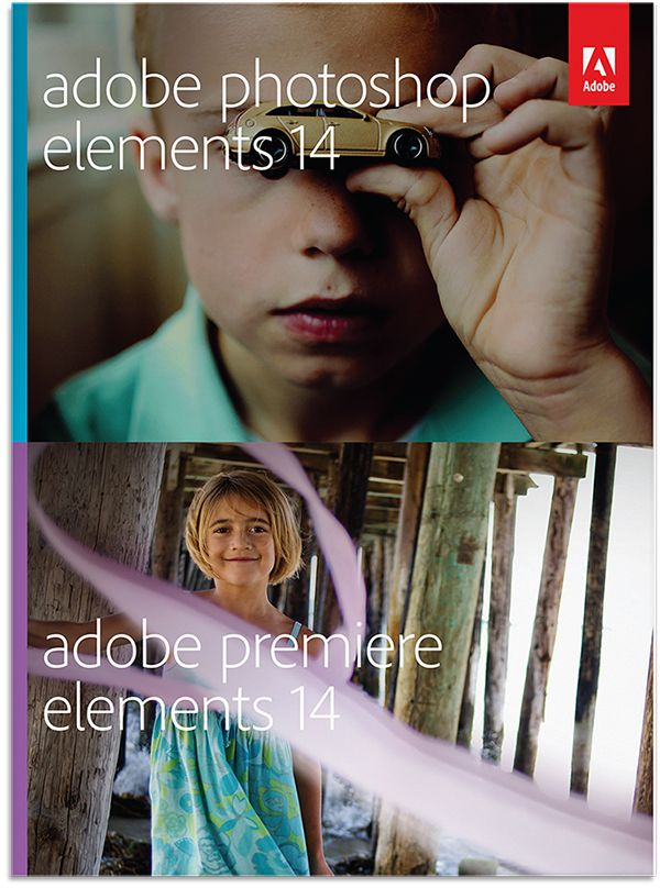 Photoshop Elements 14 et Premiere Elements 14