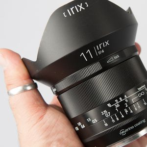 Irix 11 mm f/4 Blackstone