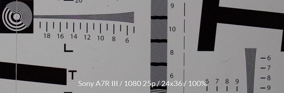 Test sony a7r iii 911c990d  w910