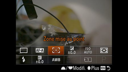 Sony A7R III test review menu